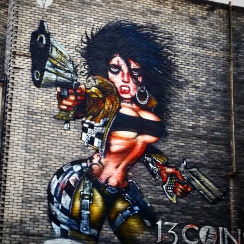 Loads of graffiti